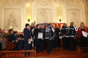 """Messina 6.12.2018 """"Premio Orione Speciale"""" Attestato di Benemerenza conferito agli appartenentI alla Polizia Provinciale  della Provincia Regionale Di Messina."""