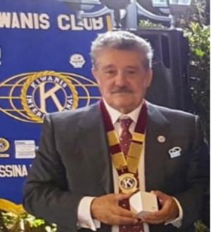 KIWANIS INTERNATIONAl  DISTRETTO ITALIA - SAN MARINO COMITATO PERMANENTE DEI PAST GOVERNATORI. Il Dr. Gianfilippo Muscianisi rieletto alla carica di Presidente del Comitato Permanente dei Past Governatori per l'anno 2021-2022