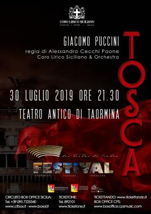 """La """"Tosca"""" caravaggesca del Coro Lirico Siciliano approda il 30 luglio a Taormina"""