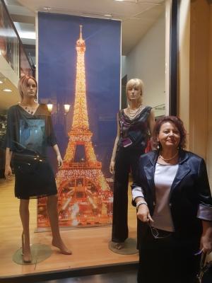 Mostra d'arte a Parigi con Maria Teresa Prestigiacomo, critico e giornalista.