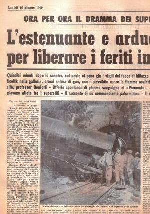 Barcellona Pozzo di Gotto: il cinquantesimo anniversario dello scontro ferroviario nella galleria di S. Antonio.