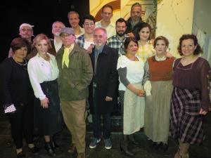 ROMANZO D'AMORE UN'OPERA TEATRALE DEGNA DI LODE Al teatro Salvatore Cattafi di Barcellona Pozzo di Gotto