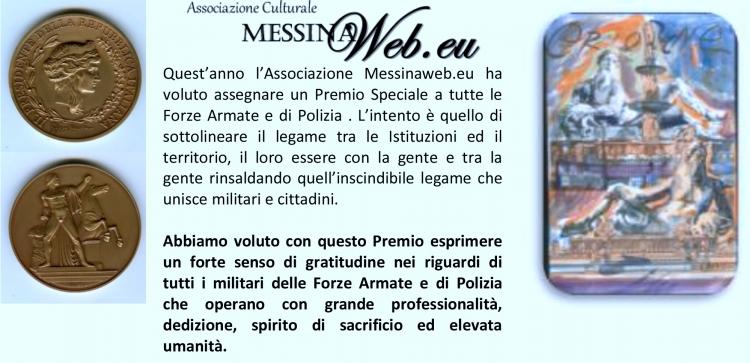 PREMIO SPECIALE ORIONE  - conferito alla  DOTT.SSA ADALGISA DI BRISCO, Commissario Capo della Polizia di Stato, Dirigente dell'Ufficio Immigrazione della Questura di Messina