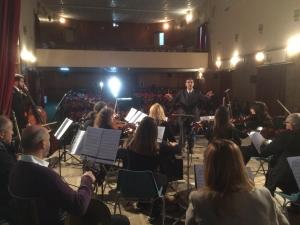 """OPPIDO MAMERTINA:     Concerto dell'Orchestra Lirico- Sinfonica """"Cilea"""" di Palmi"""