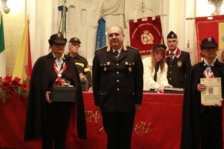 PREMIO ORIONE SPECIALE 2017 conferito al Comandante del Corpo   di Polizia della Città Metropolitana di Messina  ten.col. inc. com. Antonino Triolo