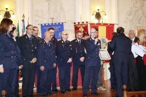 """Messina 6.12.2018 """"Premio Orione Speciale"""" Attestato di Benemerenza  conferito ai Componenti la Sezione Infortunistica del Corpo di Polizia Municipale di Messina"""