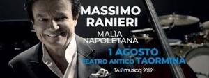 1 agosto a Taormina Teatro Antico Massimo Ranieri da non perdere