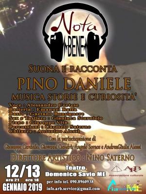 Omaggio a Pino Daniele al Savio domenica 13 ore 18.00 da non perdere