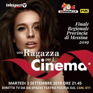 UNA RAGAZZA PER IL CINEMA Meritato successo dello spettacolo al teatro Spazio Fucina di Torregrotta
