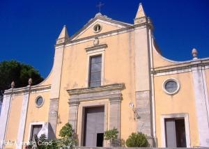 Barcellona Pozzo di Gotto: la chiesa e il convento del Carmine.