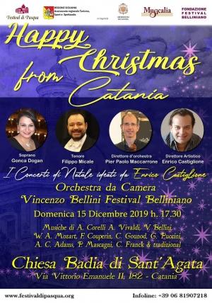 Catania  Concerto, giorno15 dicembre, del soprano Gonca Dogan e del tenore Filippo Micale. Regia di Enrico  Castiglione