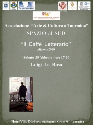 La biografia romanzata del pittore  Caillebotte di Luigi La Rosa a Taormina il 29 febbraio.