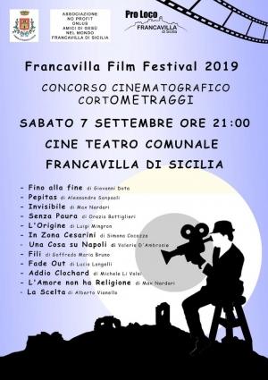 Festival dei corti a Francavilla 7 settembre
