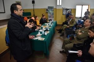"""Convegno sulla donazione degli organi e dei tessuti presso la Caserma """"Crisafulli Zuccarello"""" di Messina"""