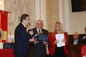 Messina 6.12.2018 - Premio Orione - all'Ing. aerospaziale Franco Depasquale