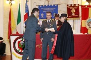 """Messina 6.12.2018 """"Premio Orione Speciale"""" conferito al Nucleo Mobile del Gruppo Guardia  Finanza di Messina Comandato dal  Maresciallo Ordinario Cosimo  Giunta."""