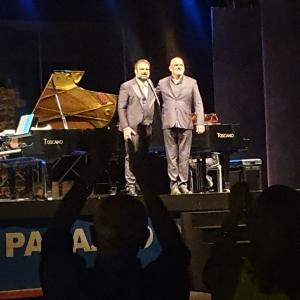 Gianfranco Pappalardo Fiumara e Roberto Carnevale al Cortile Platamone in prima assoluta mondiale per rendere omaggio a Bellini