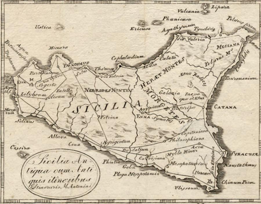 Cartina Sicilia Antica.Mercanti Forestieri In Sicilia Nell Eta Moderna