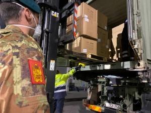 L'Esercito Italiano al servizio del Paese e dei cittadini. Operativo il piano di trasporto di dispositivi sanitari con mezzi e velivoli dell'Esercito a supporto della Protezione Civile