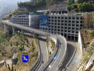 """Taormina:arte al parcheggio? Ulisse ed Efesto  al parcheggio  di""""Porta Catania"""""""