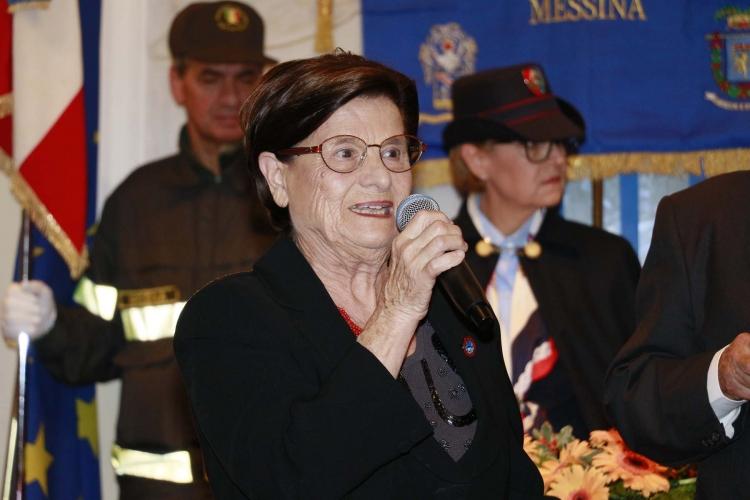 Messina 6.12.2018 - Premio Orione - alla Prof.ssa  Lietta De Salvo