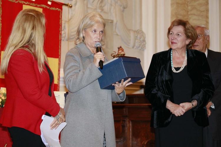 Messina 6.12.2018 - Premio Orione - alla Prof.ssa Caterina Di Giacomo