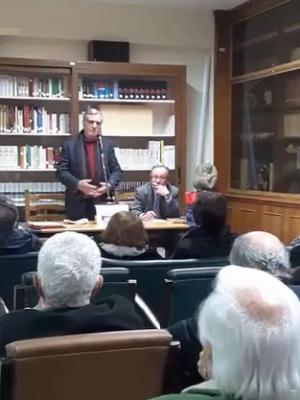 Barcellona Pozzo di Gotto: alla Corda Fratres si è parlato di libri e di libertà con Franco Cassata