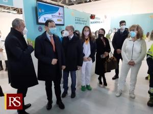 Covid: vaccini, Razza inaugura a Messina il quarto hub in Sicilia