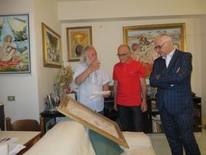 UNA ESTEMPORANEA D'ARTE PER BENEFICENZA Organizzata dal Lions club e dal Leo Club di Barcellona Pozzo di Gotto