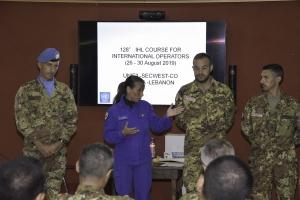 UNIFIL: concluso corso di Diritto Internazionale Umanitario Contingente nazionale UNIFIL e Croce Rossa Italiana approfondiscono le tematiche giuridiche a fondamento delle missioni internazionali