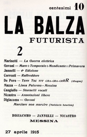 Le riviste futuriste siciliane e il rapporto speciale di Marinetti con l'isola nel libro di Andrea Parasiliti.