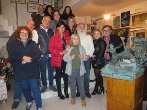 SERATA PIACEVOLE A SFONDO CULTURALE CON TANTI ARTISTI CONCLUSA ALL'OIKOS MUSEION