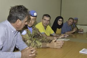 Missione UNIFIL: progetto CEDRUS avviato dai militari italiani della Brigata Aosta. Militari italiani della missione UNIFIL ed esperti pedagogisti internazionali guidano l'innovazione didattica dell'inclusione nelle scuole libanesi