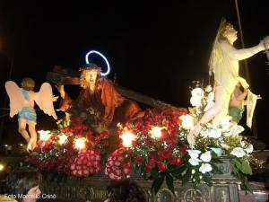 """Barcellona Pozzo di Gotto: si è rinnovata la suggestiva doppia processione delle """"Varette"""" del Venerdì Santo accompagnate dal canto della """"Visilla"""""""