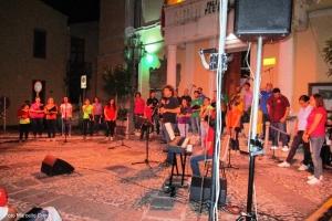 Castroreale: gradevole spettacolo di mezza estate con il Coro Polifonico Ouverture