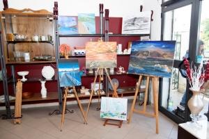 """ME - Importante PRIMA estemporanea di pittura voluta dall'associazione di commercianti """"Uniti per Torre Faro"""". Hanno partecipato artisti messinesi e di ogni parte della Sicilia."""
