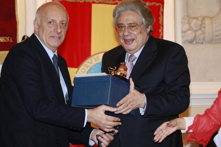 Messina 6.12.2018 - Premio Orione - al Prof. Maurizio Cinquegrani.