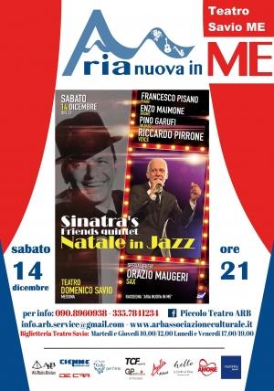 Jazz di qualità al Teatro Savio a Messina il 14 dicembre  per ARB