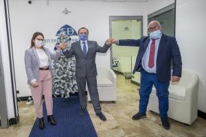 """Nel 2020 gestiti 1,2 miliardi e 189 mila anagrafiche con un recupero del 2,5%. Messina """"capitale"""" del recupero crediti: il sindaco incontra il gruppo FD"""