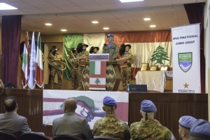 UNIFIL: attività CIMIC a favore della popolazione libanese. La Brigata Aosta che opera per le Nazioni Unite nella missione UNIFIL inaugura una ristrutturazione infrastrutturale a favore dell'Istituto Tecnico di Bint Jubayl