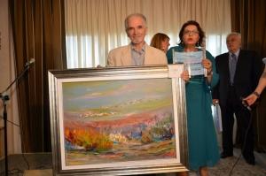 3° premio, per la sezione Pittura ad ARTEINCENTRO 2016