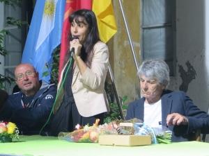 LAURA BOLESO OPERATRICE CULTURALE ARGENTINA A BARCELLONA POZZO DI GOTTO.Ancora una volta una delegazione di Chivilcoy nella città del Longano con cui è gemellata.