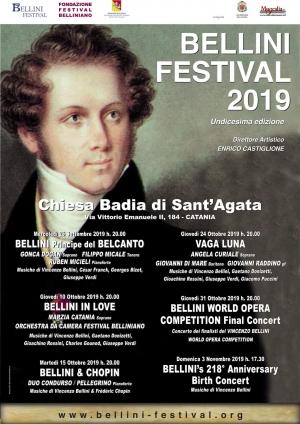 Festival belliniano a Catania Gonca Dogan Filippo Micale