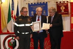 """Messina 6.12.2018 """"Premio Orione Speciale"""" Attestato di Benemerenza conferito ai Componenti il Comando Provinciale dei Vigili del Fuoco di Messina"""