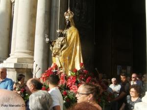 Barcellona Pozzo di Gotto: i festeggiamenti della Madonna Nera di Tindari