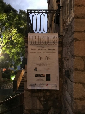 Mostra d'arte alla Fondazione Mazzullo Taormina   degli artisti Greco Rinzivillo e Rovella