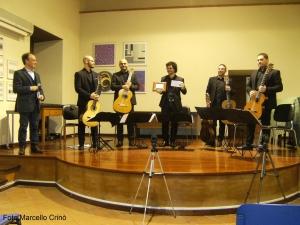 Barcellona Pozzo di Gotto: il Mediterraneo Guitar Ensemble per i concerti dell'Associazione Mandanici