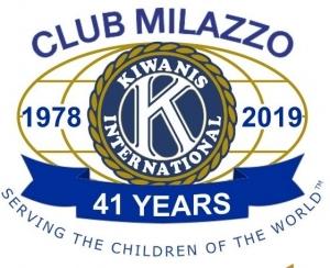 I massimi Officer al Kiwanis Club di Milazzo per la donazione del Parco Giochi al Comune.