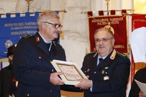 """Messina 6.12.2018 """"Premio Orione Speciale""""  conferito al DOTT.  BARTOLOMEO ARDIZZONE  SOSTITUTO COMMISSARIO  della Polizia Metropolitana di Messina"""