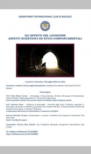 Interessante convegno del Soroptimist International di Milazzo